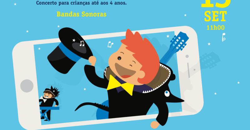 """Música com Dragõezinhos – """"Bandas Sonoras"""" – Sessão Online"""