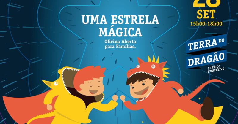 Uma Estrela Mágica – Oficina Aberta (p/Famílias)