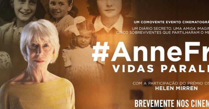 """#AnneFrank – Vidas Paralelas"", para escolas"