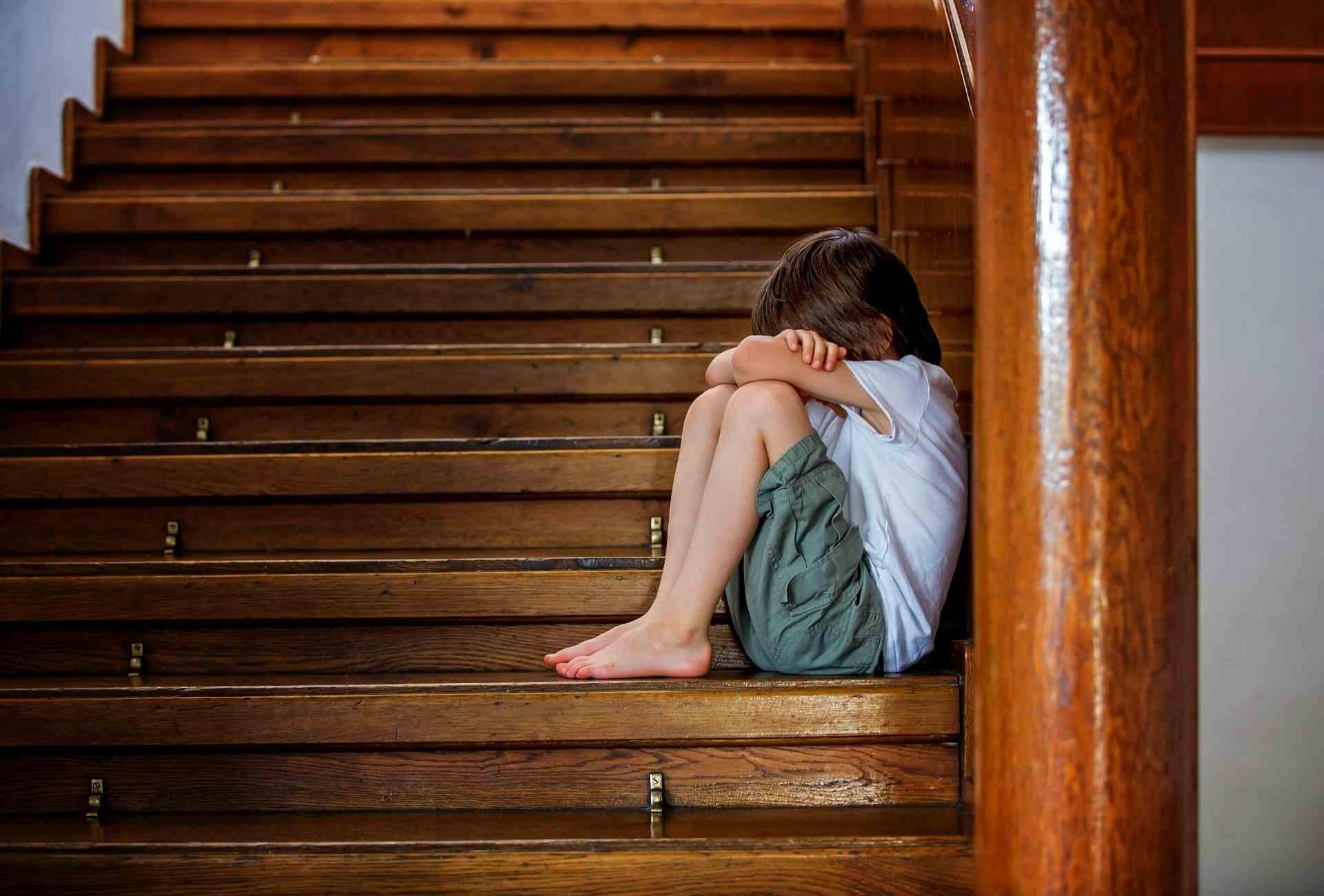 causas da depressão infantil
