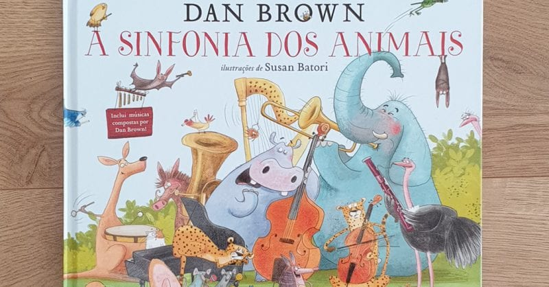 Passatempo: livro «A Sinfonia dos Animais», de Dan Brown