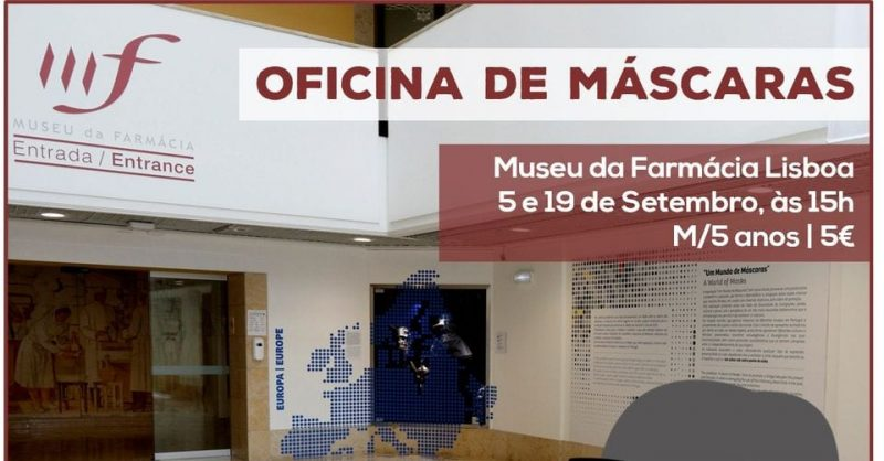 Oficina de Máscaras no Museu da Farmácia