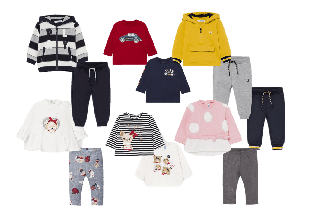 conjuntos mayoral bebé