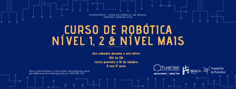curso de robótica casa da ciência braga