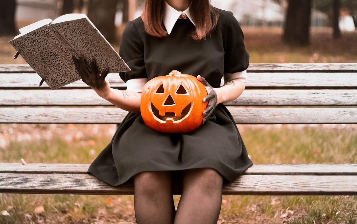 livros halloween inglês