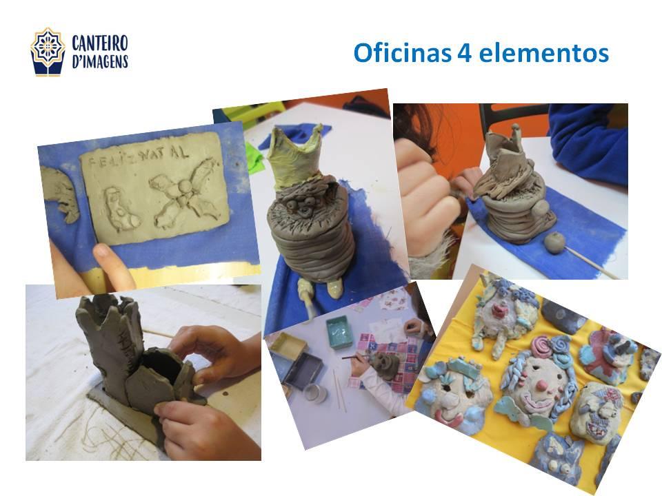 oficina os 4 elementos