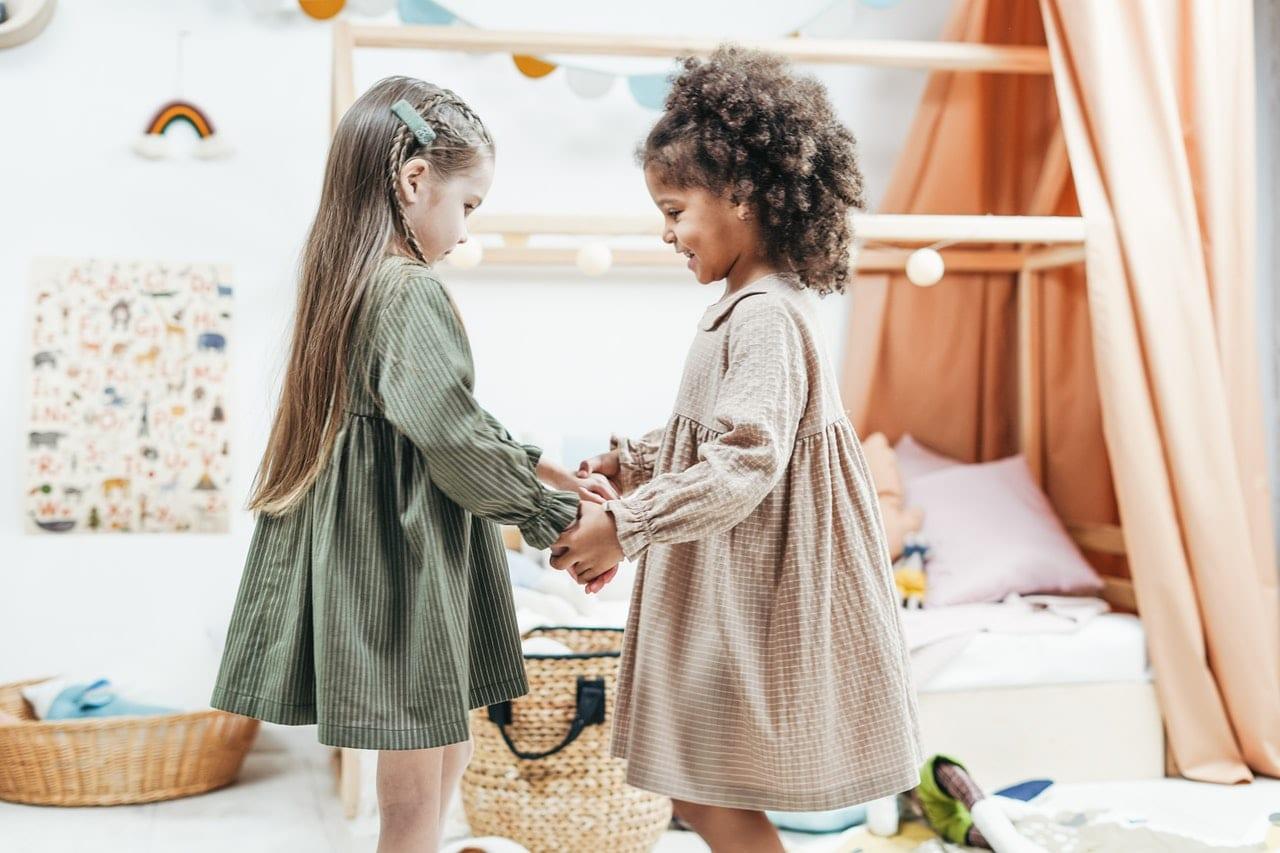 guia amizades crianças