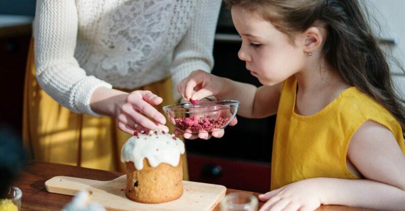 cozinhar com crianças