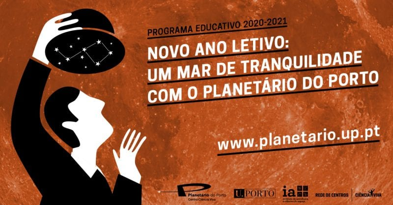 programa educativo Planetário do Porto 2020/2021