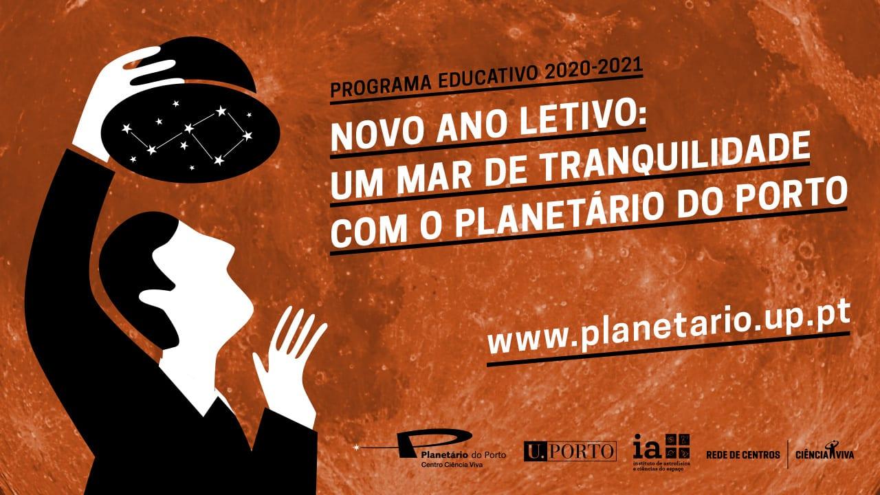 programa educativo Planetário do Porto 2020/2021