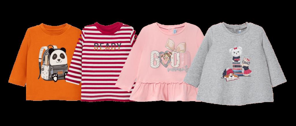 t-shirts bebé mayoral