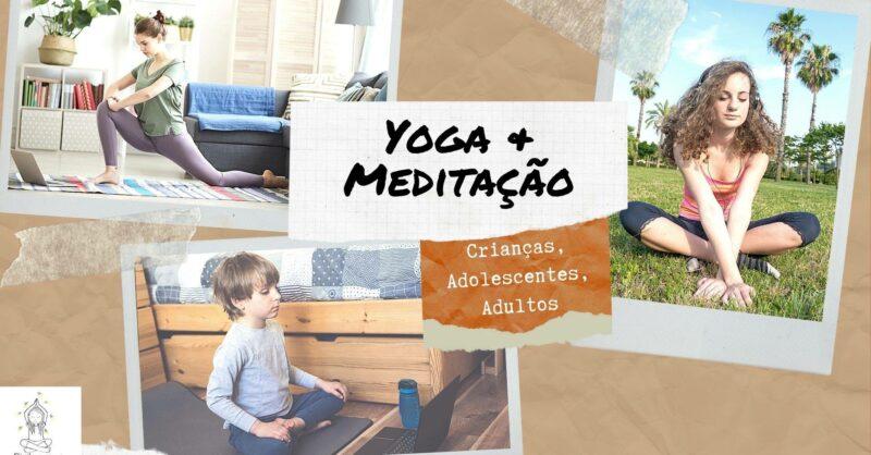 Yoga e Meditação para Crianças e Adolescentes – Online