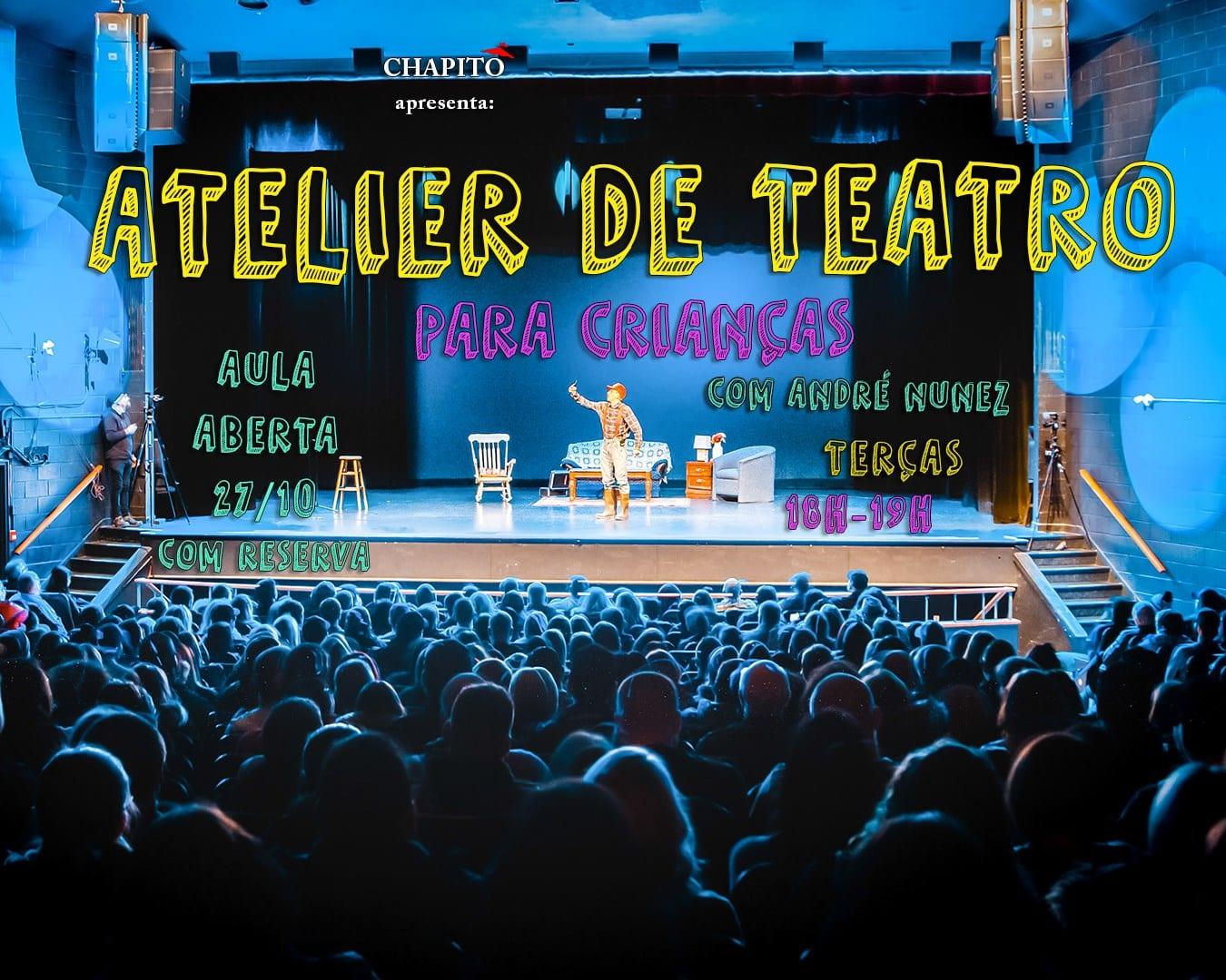Atelier de Teatro – Aula Experimental Grátis