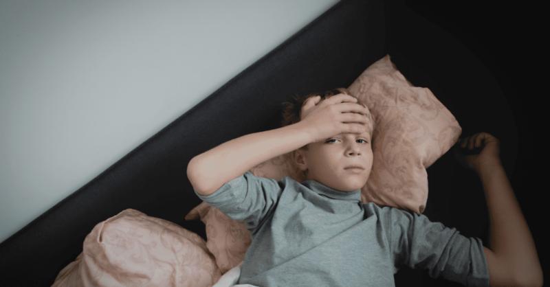 dor de cabeça crianças