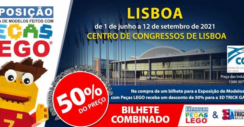 Exposição Peças LEGO® no Centro de Congressos de Lisboa!