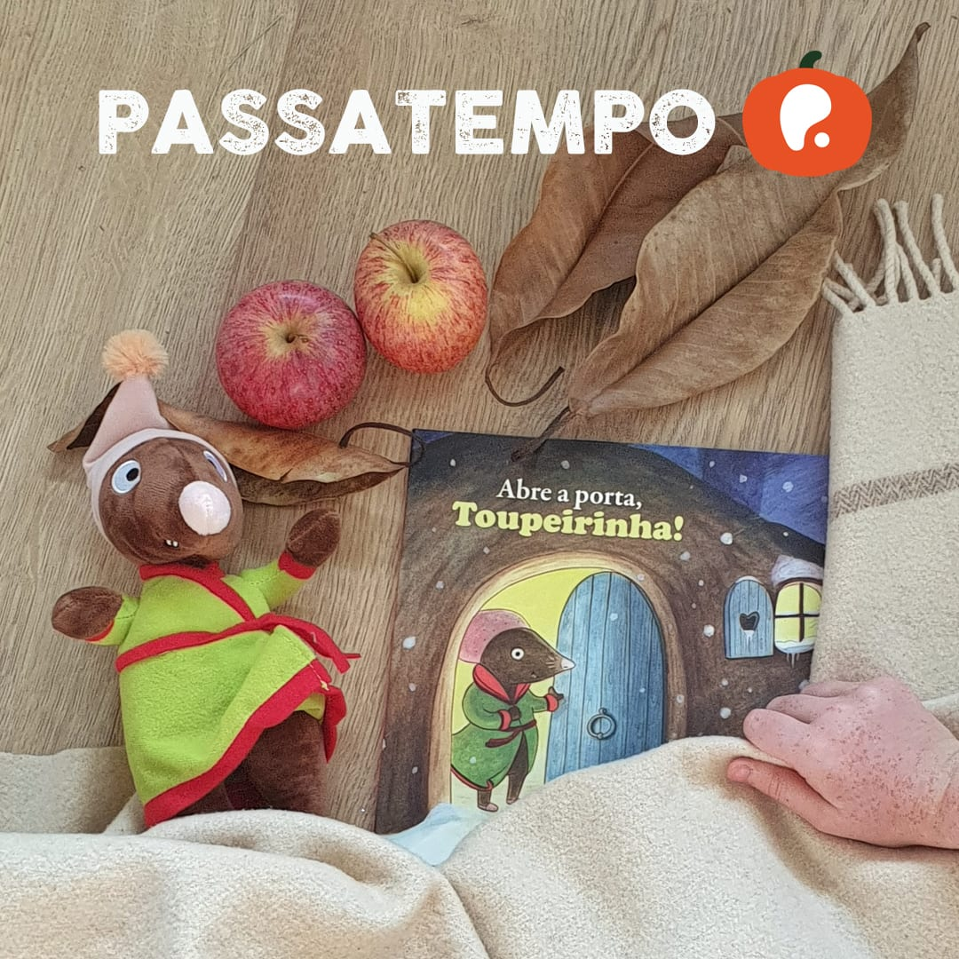 Passatempo Abre a porta, toupeirinha- Bertrand Toupeirinha