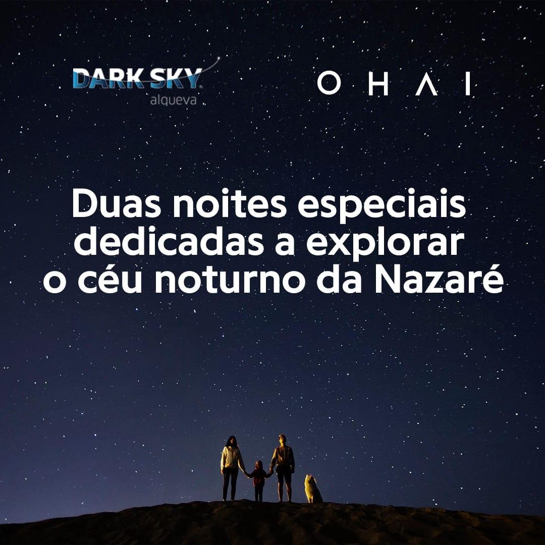 Ohai Nazaré Dark Sky