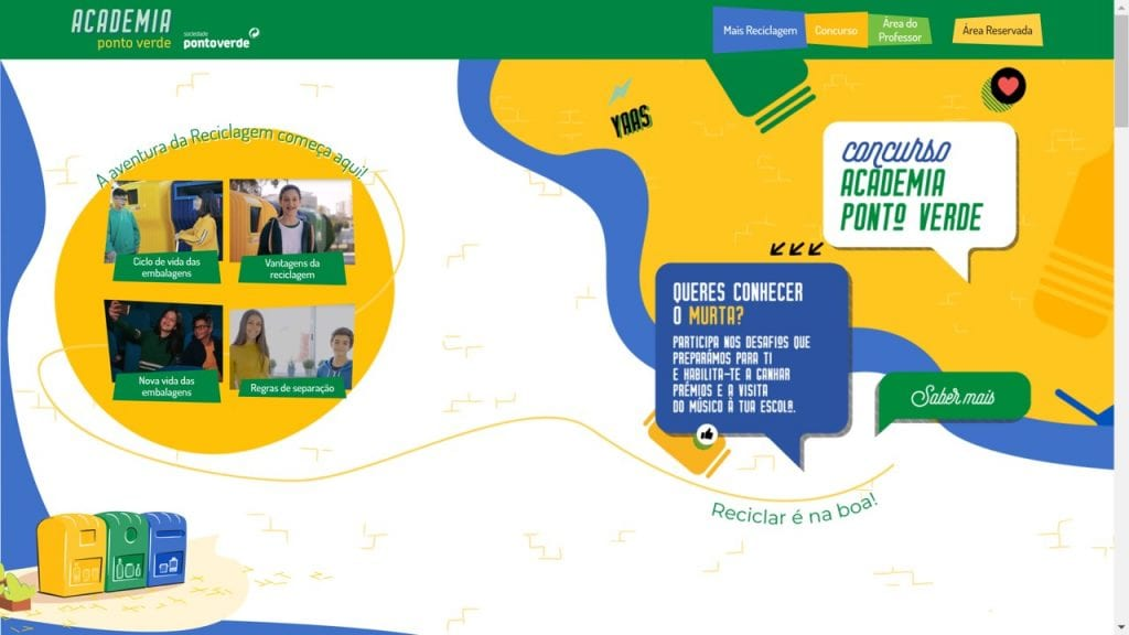 Site Academia Ponto Verde