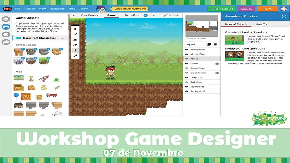 Workshop Game Designer