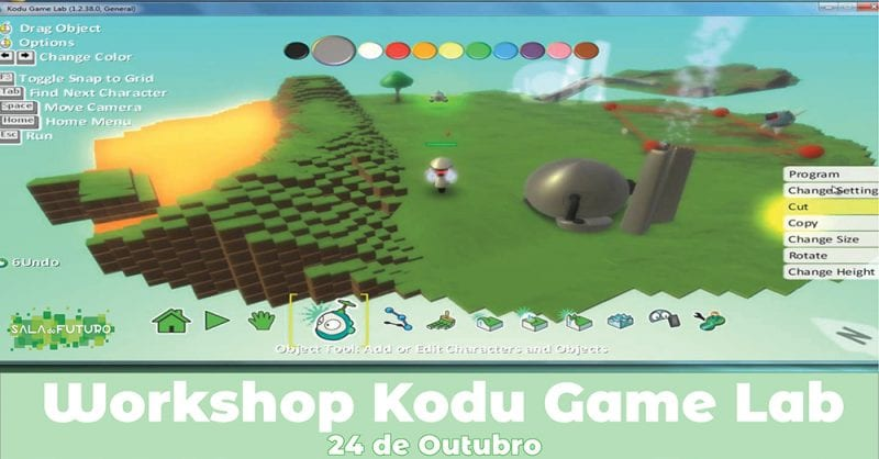 Workshop: Kodu Game Lab