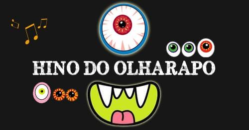 Hino do Olharapo na na Livraria Infantil Salta Folhinha