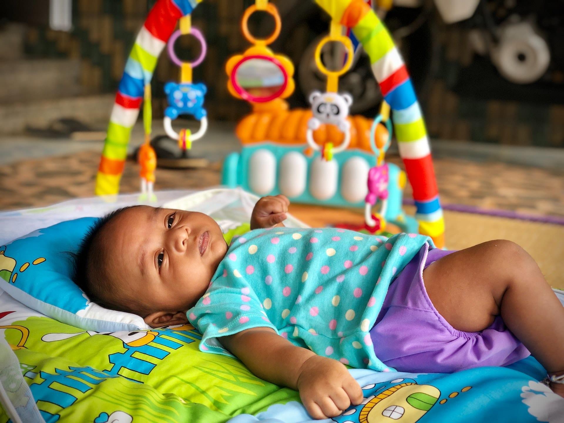 tapete atividades bebé