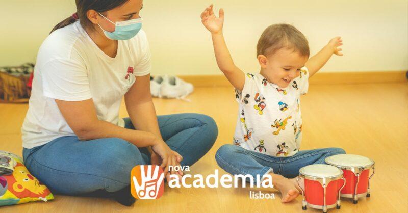 Música para bebés na Nova Academia