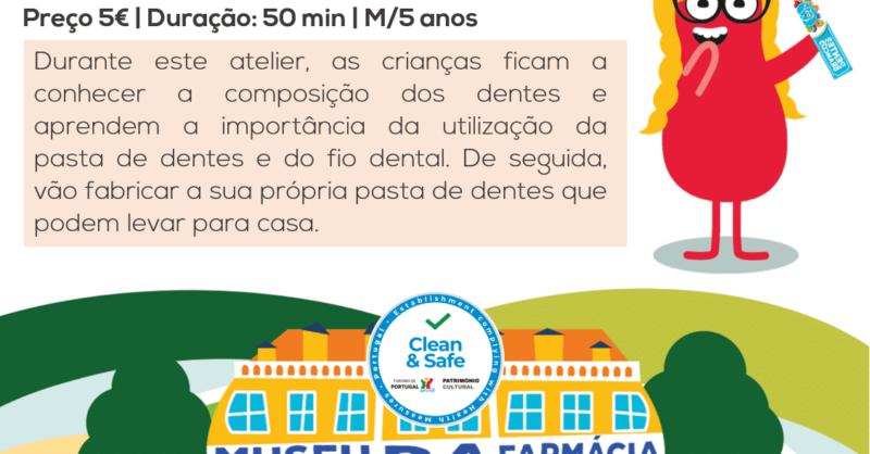 Atelier Higiene Oral no Museu da Farmácia