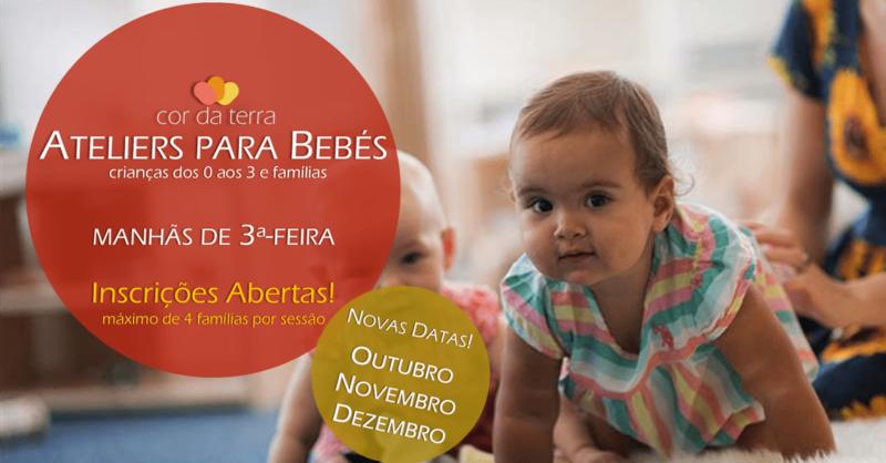 Ateliers para Bebés do Cor da Terra