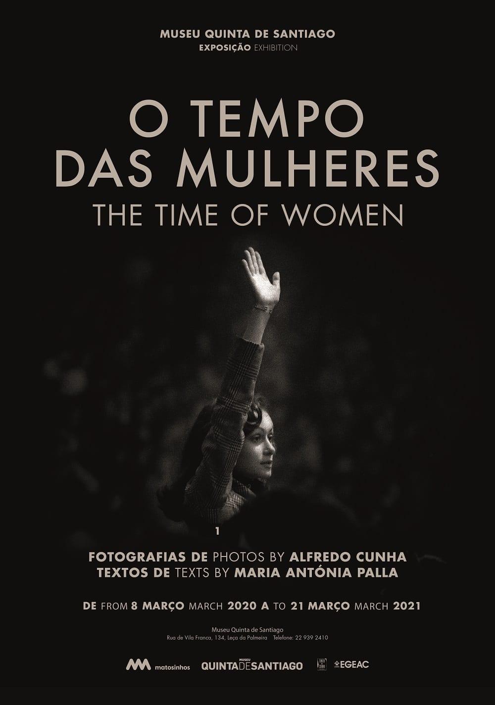 O TEMPO DAS MULHERES - EXPOSIÇÃO DE FOTOGRAFIA DE ALFREDO CUNHA