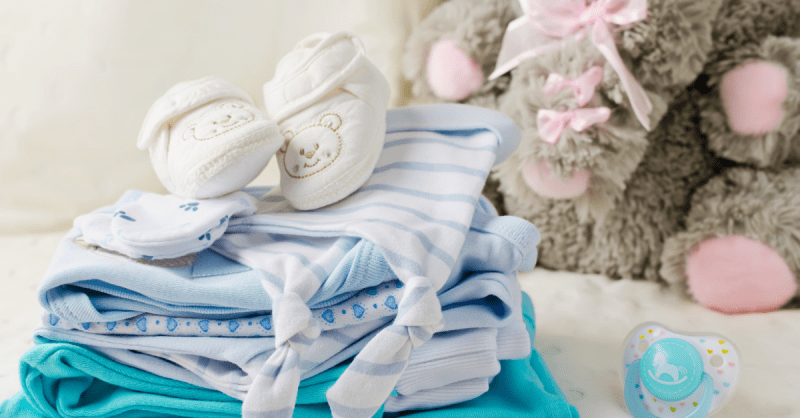 primeira roupa do bebé