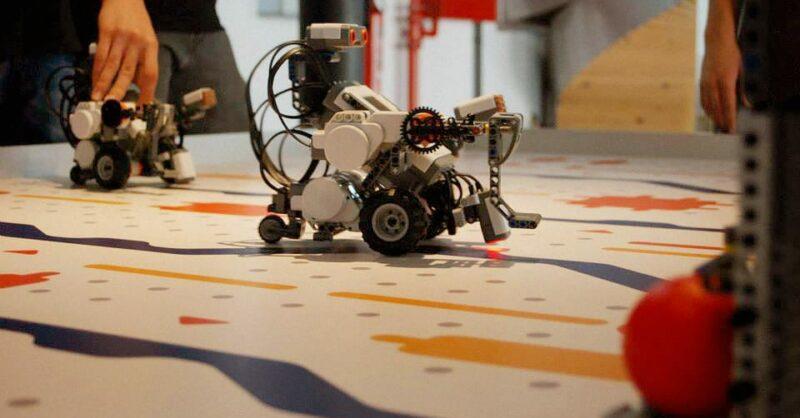 Oficina dos Robôs – Lego Mindstorm NXT