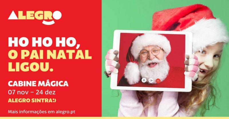 O Natal já chegou ao Alegro Sintra!
