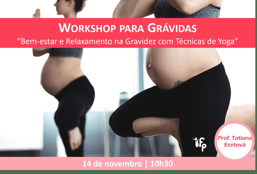 Workshop para Grávidas (teórico-prático) | Online
