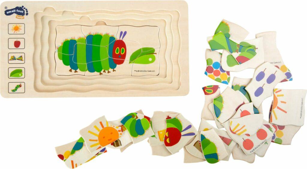 puzzle a lagartija muito comilona