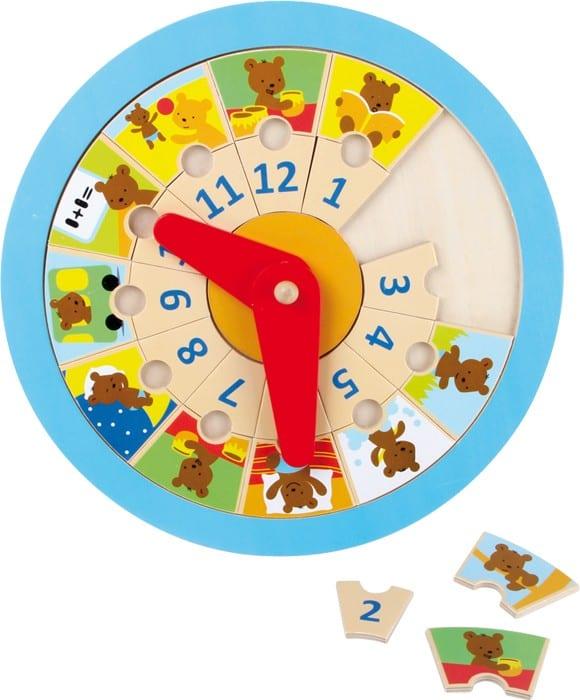 relógio aprender as horas