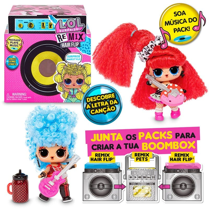 lol remix surprise dolls