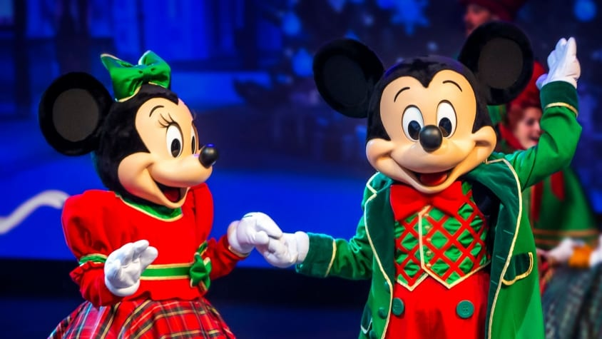 mickey Minnie Disneyland Paris natal