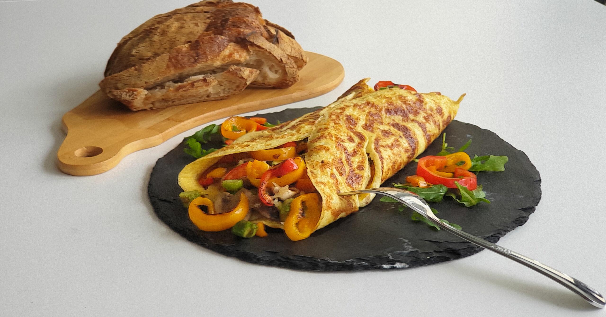 omelete facil capa receita