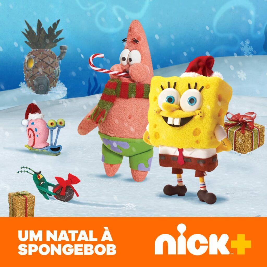 spongebob Natal