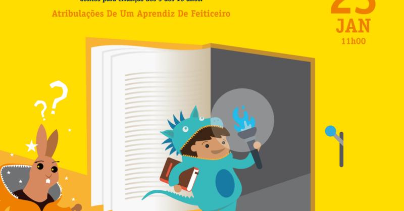 """Histórias com Magia para Dragõezinhos - """"Atribulações De Um Aprendiz De Feiticeiro"""""""