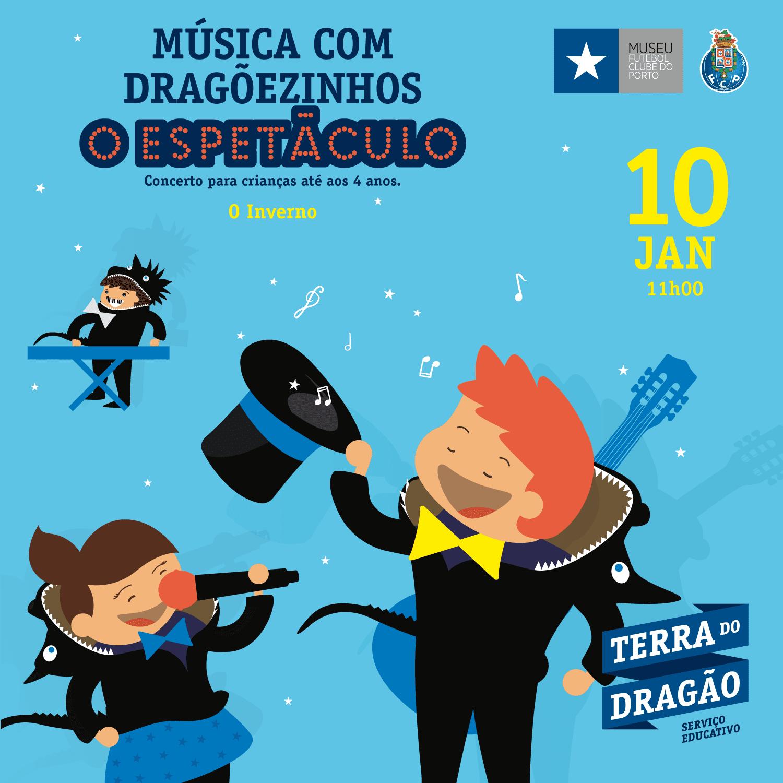 """Música com Dragõezinhos, O Espetáculo – """"O Inverno"""""""