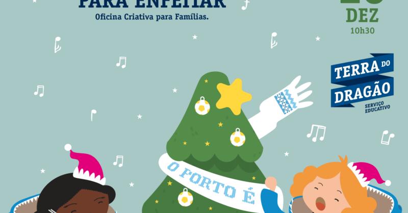 Um Natal de Encantar e Pinheirinhos para Enfeitar – Oficina Criativa
