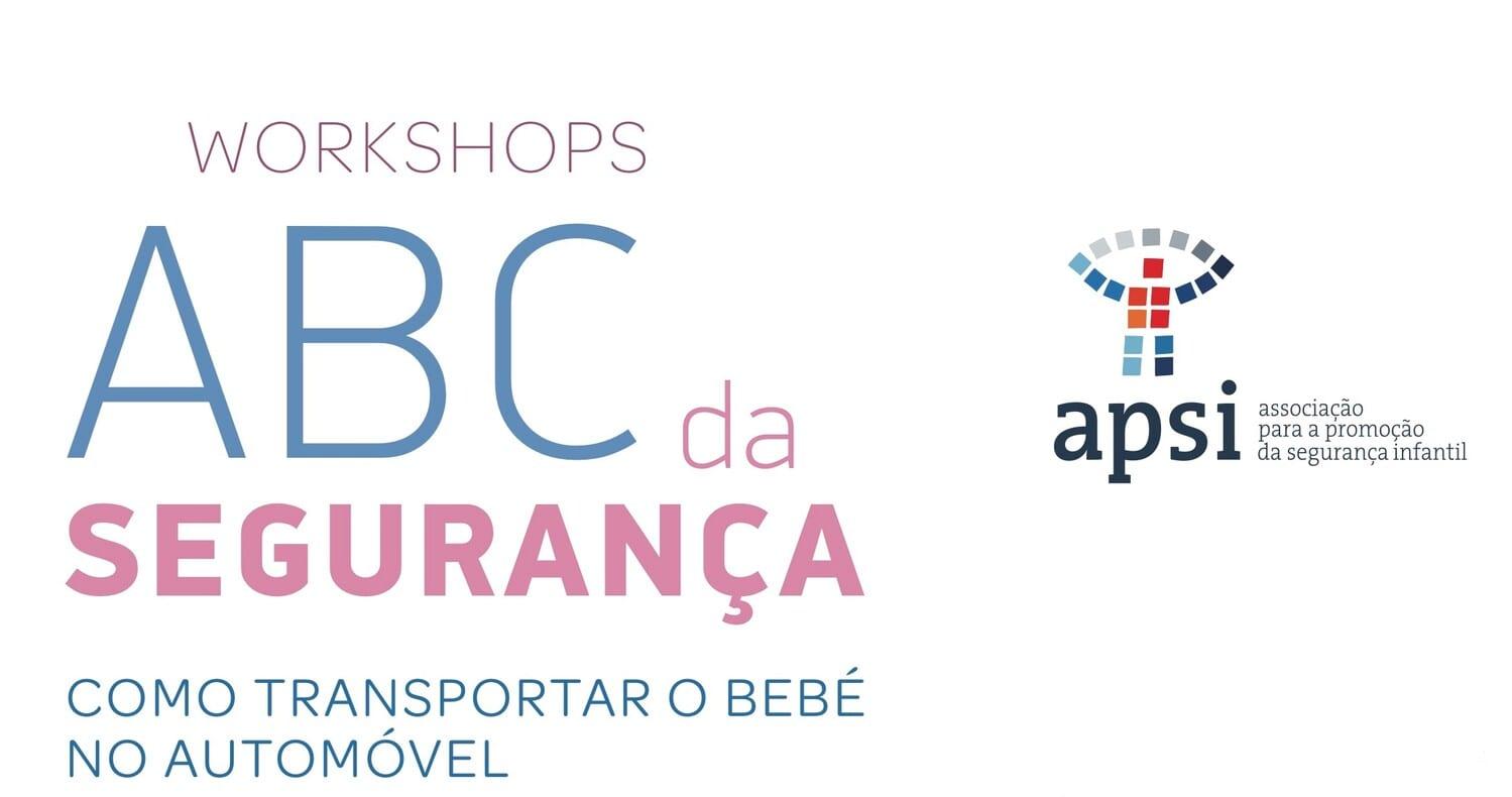Workshop ONLINE ABC da Segurança – Como transportar o bebé no automóvel