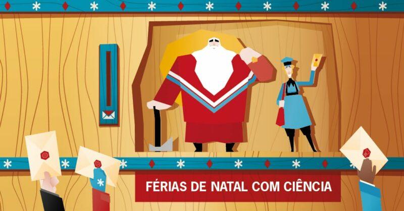 Férias de Natal com Ciência na Fábrica Centro de Ciência Viva de Aveiro