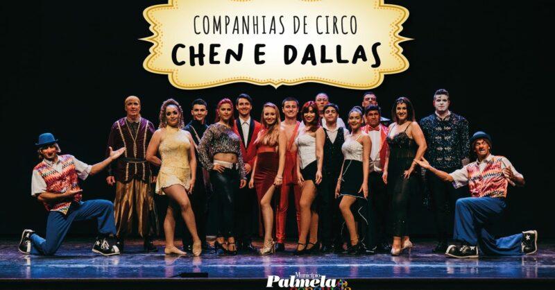 Dallas e Chen levam a magia do circo ao Cine-Teatro S. João
