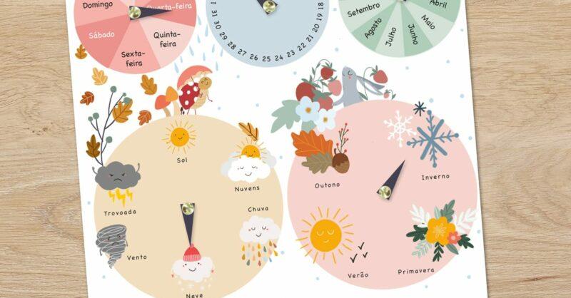 DIY : Um calendário perpétuo bonito e prático!