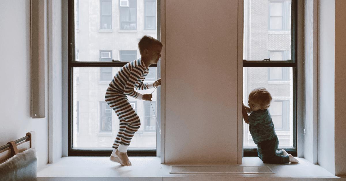 confinamento com crianças