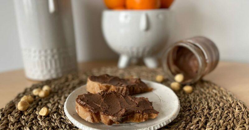 Receita de nutella saudável (e vegana!)