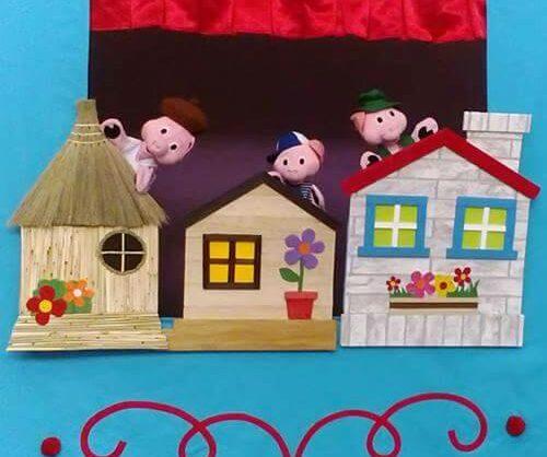 Os Três Porquinhos em casa com a Cativar!